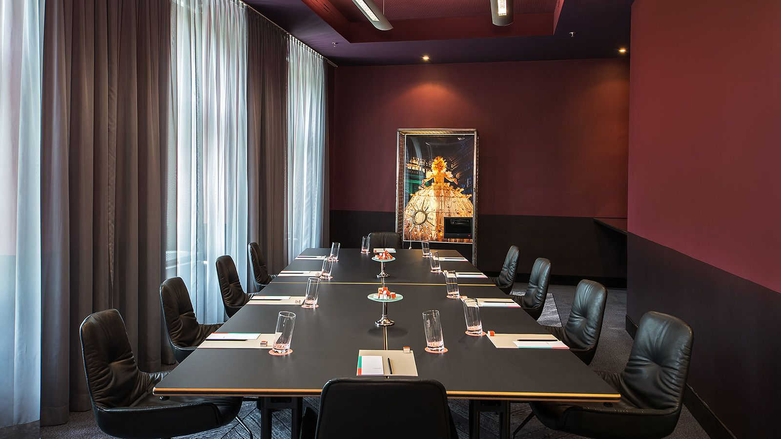 Tagungshotel Wien: Meeting Raum Not really Pink
