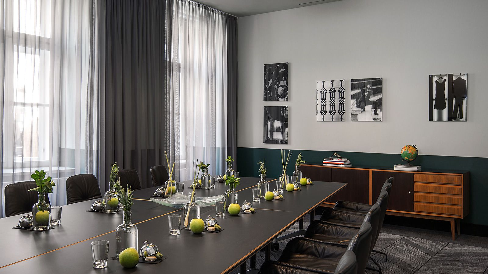 Tagungshotel Wien: Le Méridien Meeting Raum Racing Green